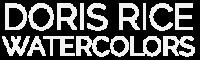 Doris Rice Watercolors Logo