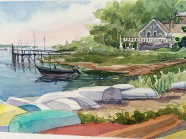 Summer rowboats
